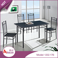 Best sales MDF retaurant table and chairs dining table set dining table and chair