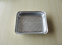 Hot selling first rate attractive and reasonable price100% food grade aluminum foil container for food box