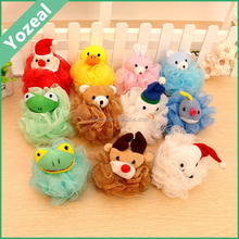 Small and mini animal shower pouf puff balls wholesale