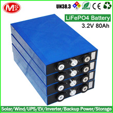 Electric forklift rechargeable lithium ion battery 3.2V 80AH LiFePO4 battery