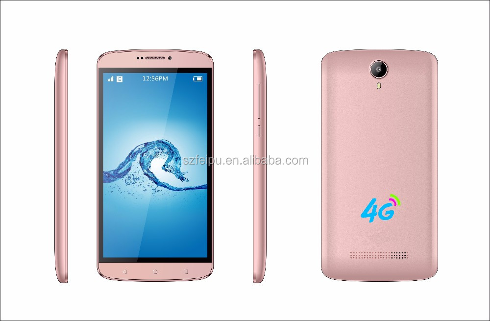 2016 New 4G 5.5 inch dual sim MT6735M android 6.0 smart phone