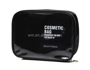 Factory direct large PVC zipper toiletry bag with clear window