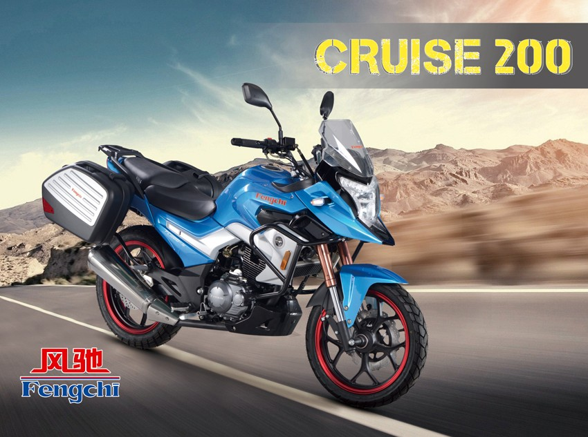 Manufacturer Supplier 125cc automatic chopper motorcycle with high quality