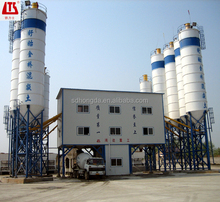 40m3/h-240m3/h Mobile, fixed type, simple type concrete batching plant