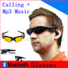 2014 high quality Top sell Wireless Bluetooth Earphone multifunctional Glasses and answer call