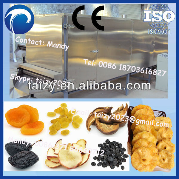commercial fruit drying machine/dried fruit processing machine/stainless steel fruit drying machine /0086-18703616827