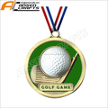 2018 New Custom Design White Golf Ball Golf Medallion