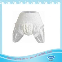 Adult diapers disposable panties for women