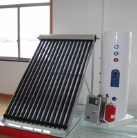 100-250l Split Heat Pipe Vacuum Tube Solar Water Heater, High Quality Solar Water Heate