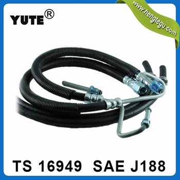 cars spare parts sae j188 3/8 inch high pressure power steering pump hose