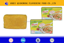 different flavours bouillon cube seasoning cube for your choice