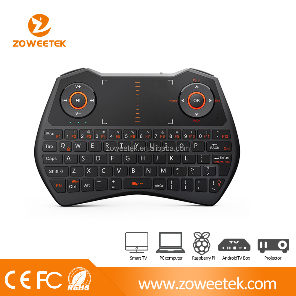 Rii 2.4g Gaming mini Wireless Keyboard for Android / Linux / IOS / Window