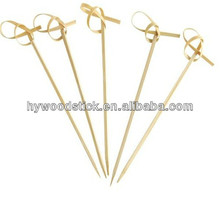 Wholesale Eco-frienly Restaurant 4 In 1 bbq Bamboo Skewers