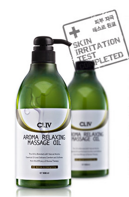 KOREA COSMETICS CL4 AROMA RELAXING MASSAGE OIL