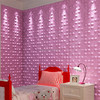 Bamboo fiber wave design 3d wall panel waterproof brick textured wall panel in mdf
