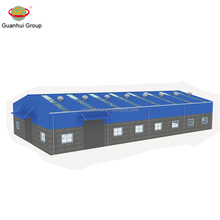 Good quality light steel structure warehouse with low price