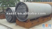 Waste plastic/tire disposal equipment