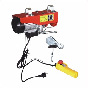 PA600E small electric cable hoist cranes