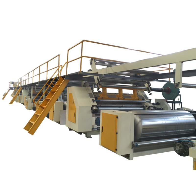 High efficiency one year warranty 3/5 ply automatic corrugated board plant