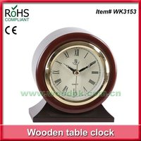 2016 New items cheap table clocks vintage ball clock with bezel