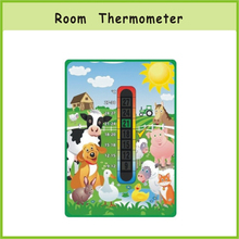 Custom Advertising Baby Care Color Changing Room Thermometer