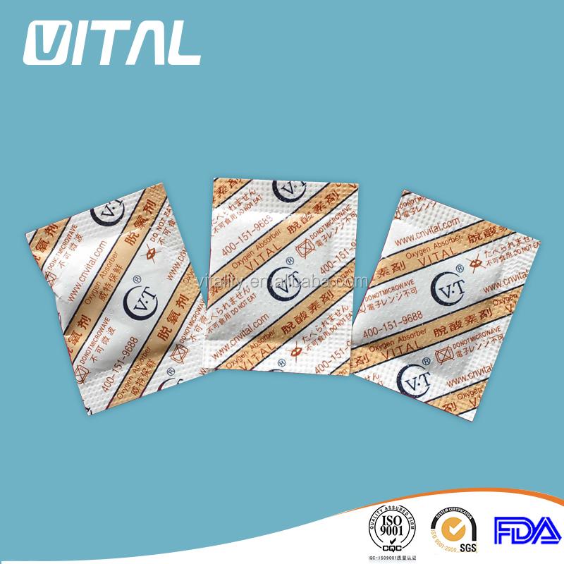 Alcohol preservative oxygen absorber for cakes