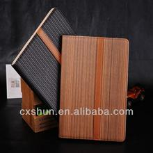 Knitting pattern dormancy leather case stand for ipad mini