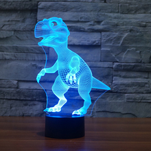 FS-3197 3D dinosaur shape Shape table lamp 3D Baby Night Light