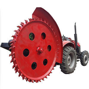 High quality 2018 most popular Supporting power 35-100 horsepower disk trencher for skid