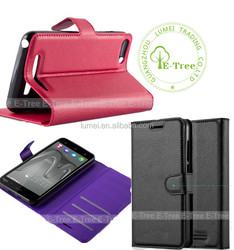 PU leather flip cover case for gionee f103, for gionee f103 case card slots and wallet with stand funcation