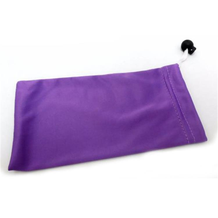 Microfiber Assorted Colors Drawstring Sunglass Pouches