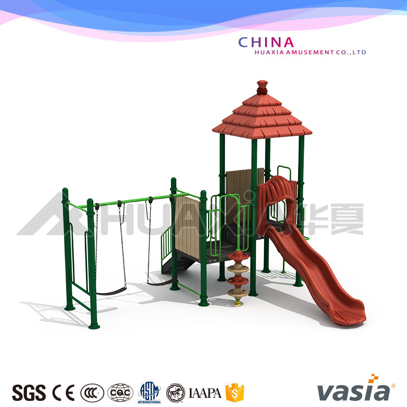 2017 Huxia toys wenzhou Adventure Plastic Outdoor Playground Equipment For Children