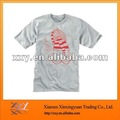 China Golden Supplier O-neck Combed Cotton Anti-shrink Tshirts