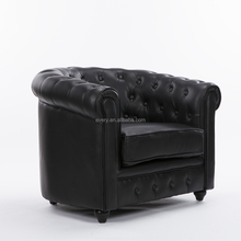 Luxury Classic European Lounge Leather Living Room Made in China Furniture Sofa Chair Sets