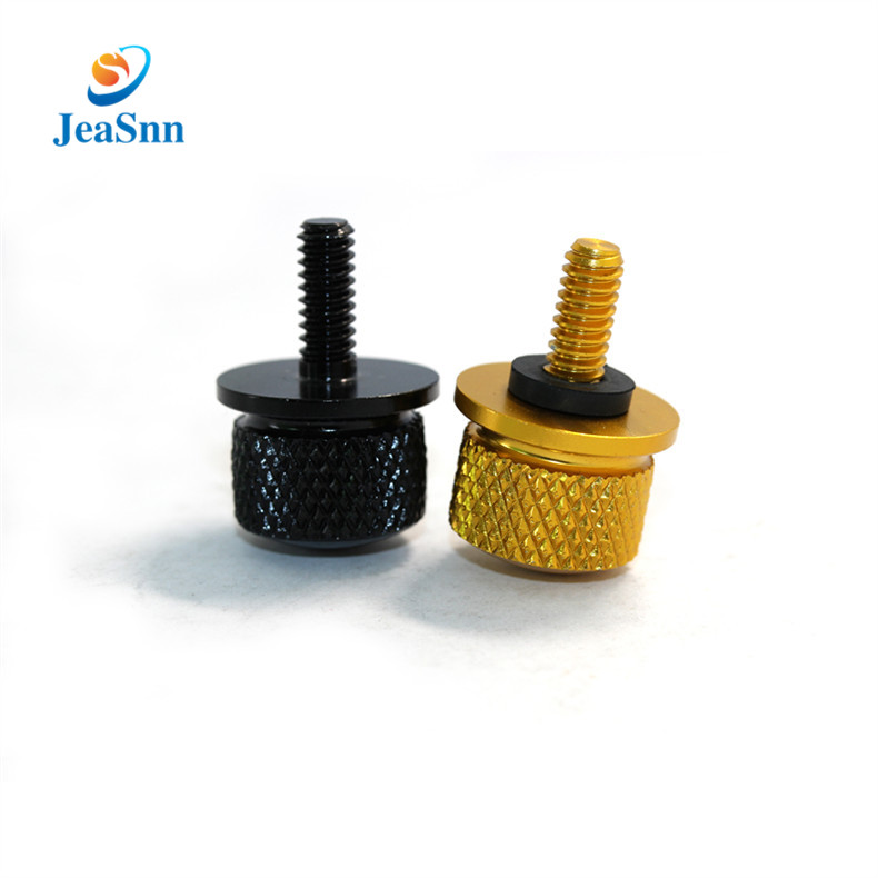 Custom Stainless Steel Knurled Thumb Screws M4