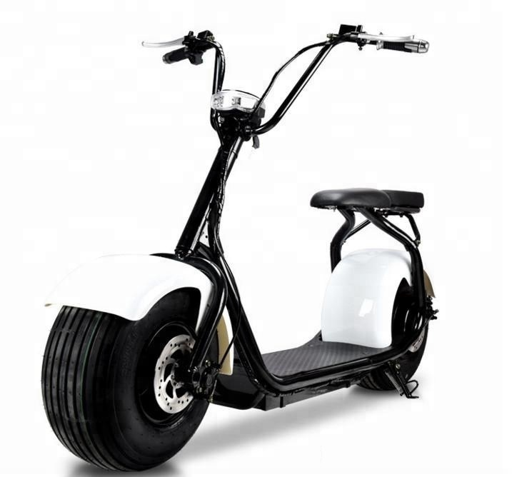 Classic Style 1500w 12ah Lithium Battery Fat Tyre Electric Scooter