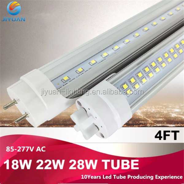 .Double Row LED T8 Tube 8FT 44W 4400LM SMD 2835 integrated 480 LED Light Lamp Bulb 8 feet 2.4m led lighting fluorescent