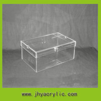 fashion hot sale clear acrylic shoe box for sale