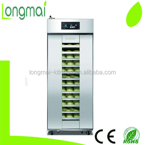 Hot selling LM- 32DF 32 trays bakery bread dough refrigeration proofer
