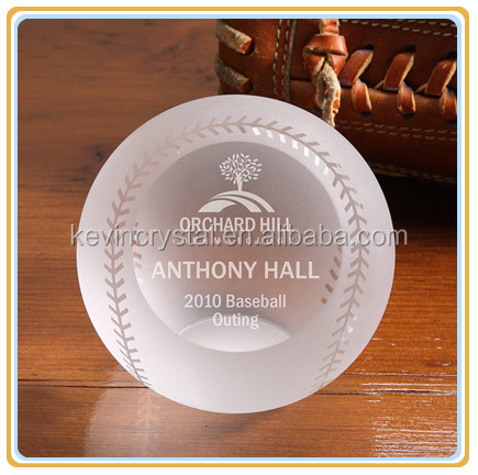 unique crystal baseball outing award souvenirs gifts favors