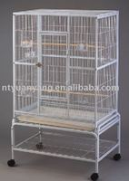Fashionable and Comfortable metal steel parrot animal cage bird cage