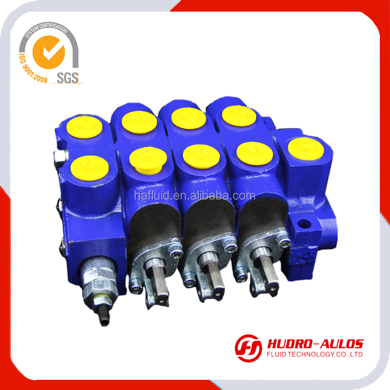 DCV50/3 agriculture sectional control valves, floating spool sectional control valve on tractor with cable control, valves