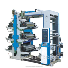 YT-6600 High efficiency paper plastic film bag making press machine with flexo printing