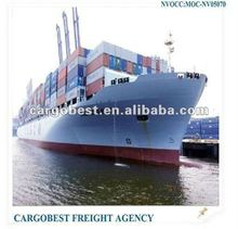 Containers forwarding agents from NINGBO to Rio De Janeiro,Brazil
