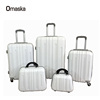 New Design Factory Wholesale 4 Spinner Wheels 20 24 28 inch Customized Cheap ABS PC Trolley Luggage Cases
