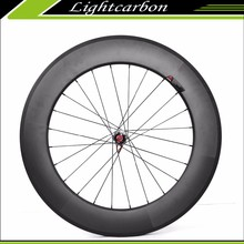 LIGHTCARBON 2015 700c Bicycle Wheels 240S-880C for Sale, 88mm High-Profile DT240S Hubs Carbon Clincher Road Bike Wheels