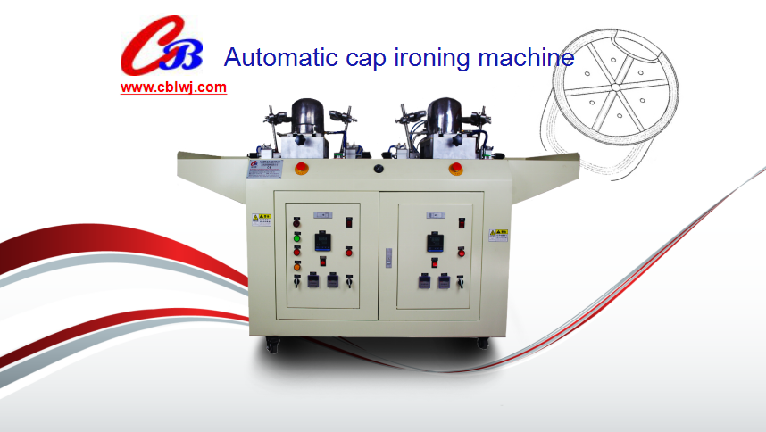 2017 HOT-SALE new band with boilet automatic cap ironing machine