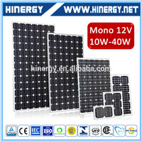 High Quality Small Size 30w Mono Panels Solar, Small Size 50w Solar Panels, Small Size Solar Panel