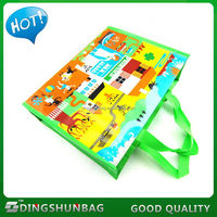 Good quality cheapest pp woven heavy duty shopping bag