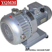 Oil-free dry scroll vacuum pumps